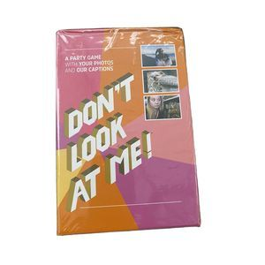 Don't Look at Me! Adult Party Game w/ Your Photos